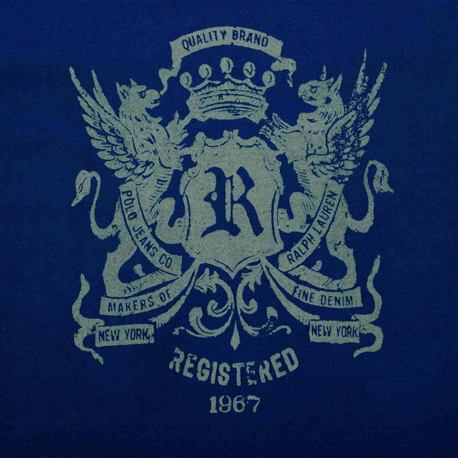 Трендовая мужская футболка от Ralph Lauren (США)-принт
