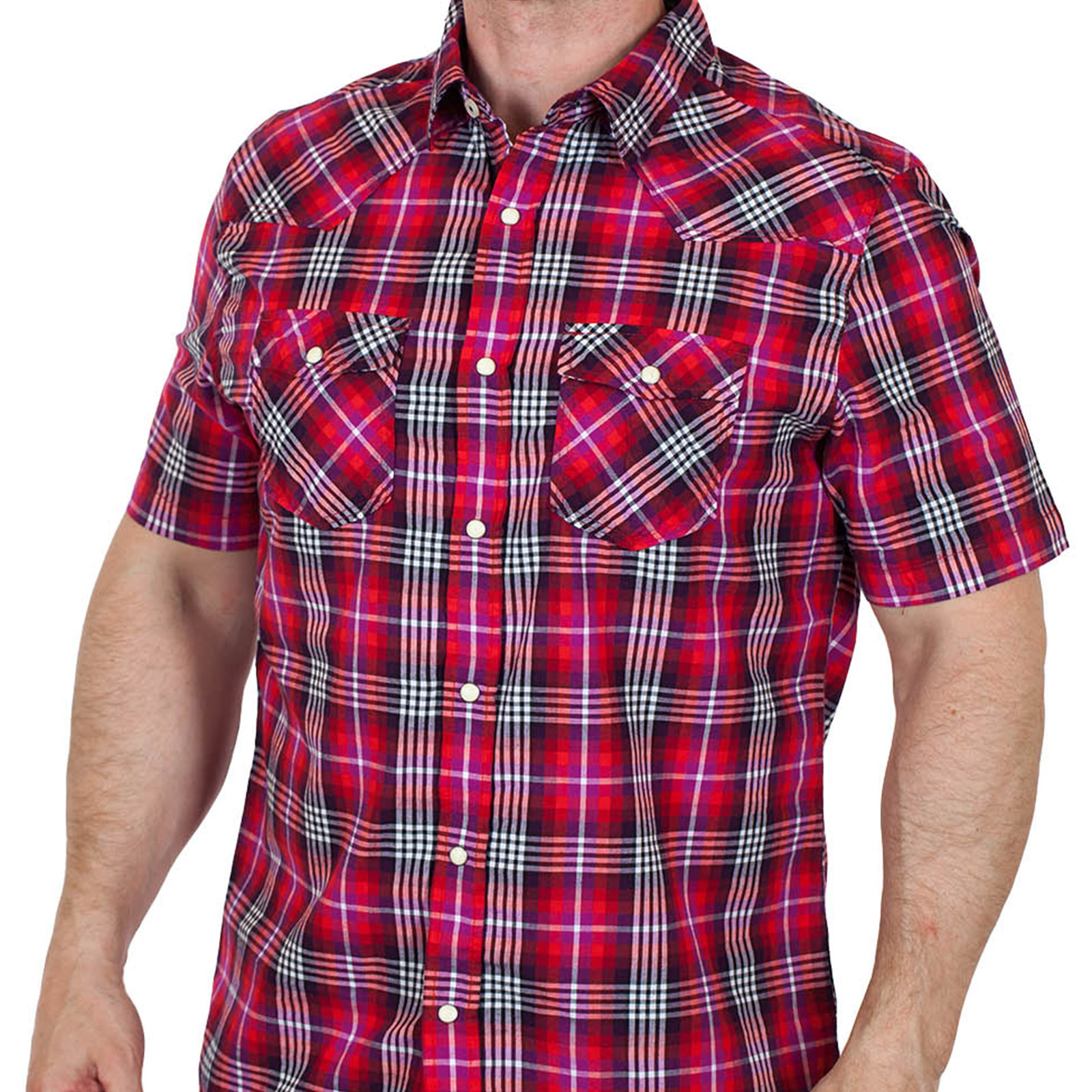 Трендовая мужская рубашка Aeropostale - вид спереди