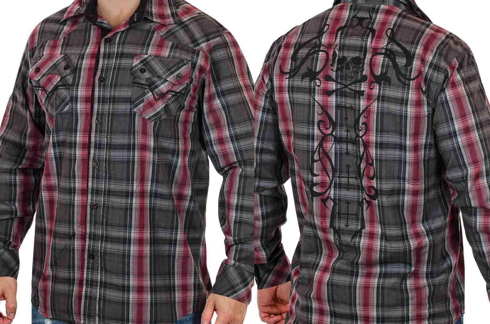 Трендовая мужская рубашка от Modern Culture (США)