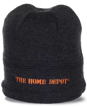 Трендовая мужская шапка классического дизайна от Home Depot