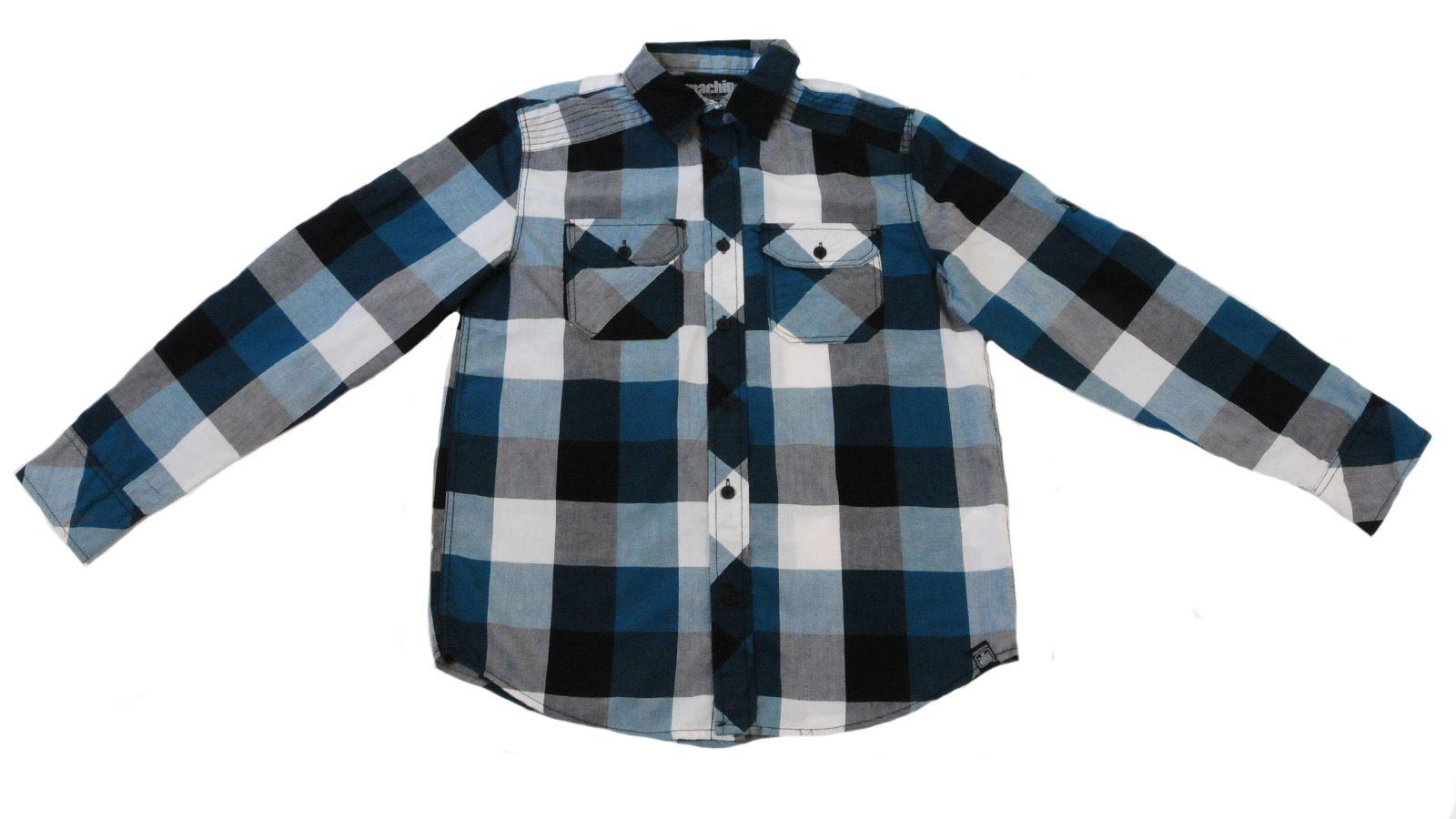 Трендовая рубашка для детей и подростков Machine-вид спереди