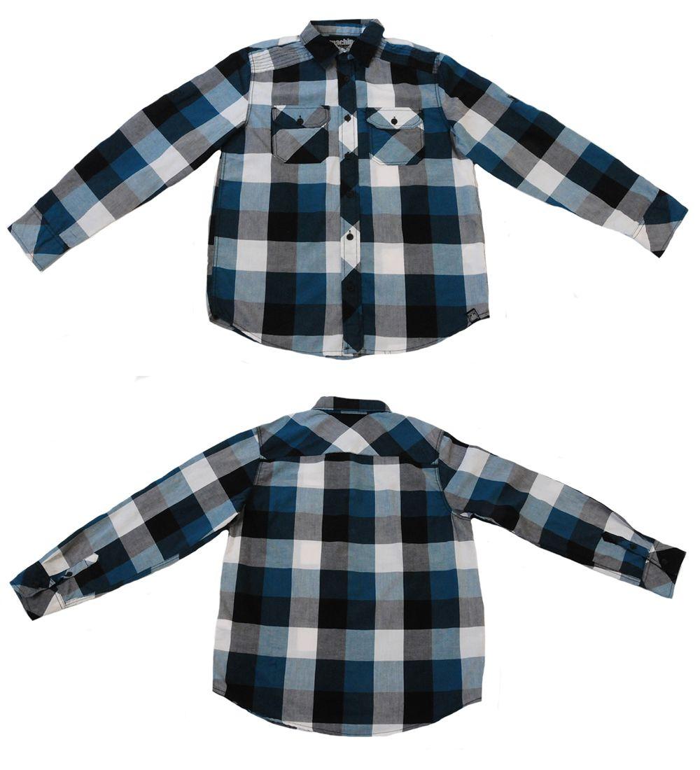 Трендовая рубашка для детей и подростков Machine