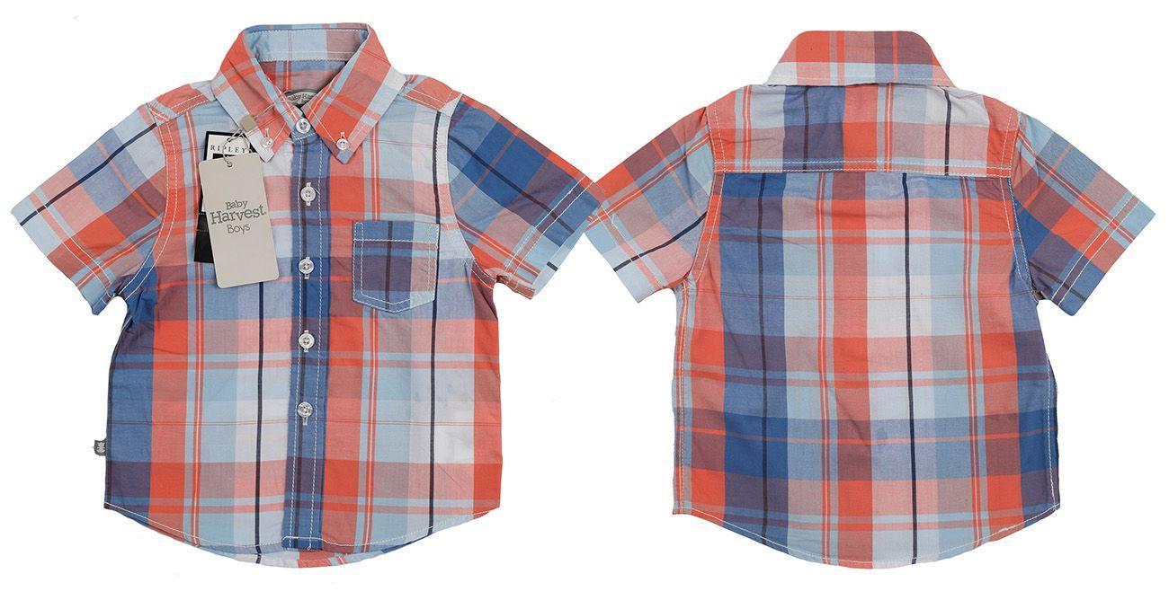 Трендовая рубашка от австралийского бренда Baby Harvest