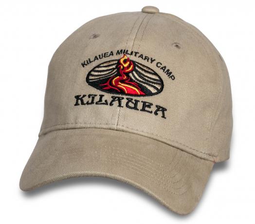 Трендовая светлая бейсболка Kilauea Military Camp.