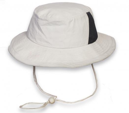 Трендовая светлая шляпа-панама - заказать с доставкой