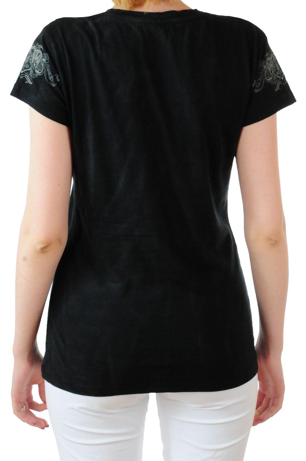Трендовая женская футболка Hard Rock® San-Francisco - вид сзади