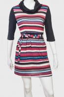 Трендовое полосатое платье