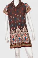 Трендовое стильное платье-туника от бренда Papillon