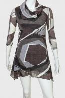 Трендовое уютное платье-туника от бренда Le Grahier