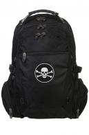 Трендовый черный рюкзак с Адамовой головой