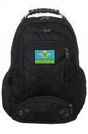 Трендовый черный рюкзак с эмблемой ВДВ