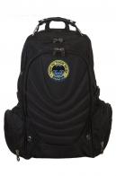 Трендовый черный рюкзак с нашивкой Спецназ ГРУ