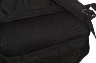 Трендовый черный рюкзак с нашивкой Спецназ ГРУ - заказать в розницу