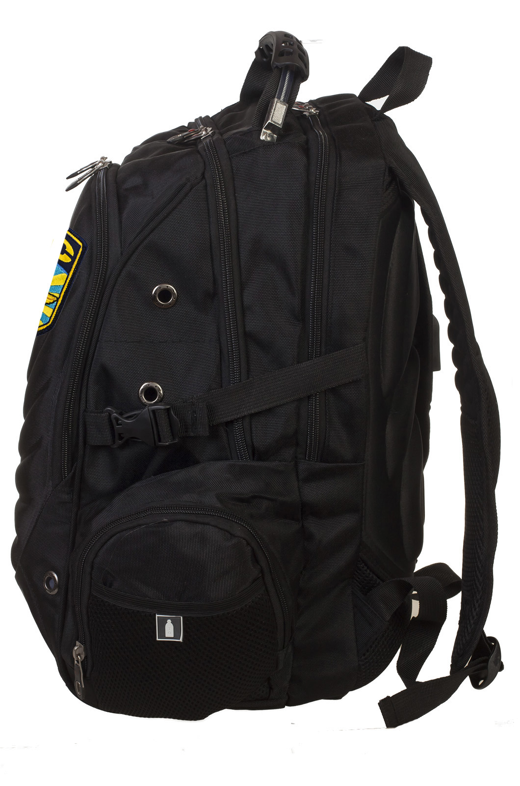 Трендовый городской рюкзак с шевроном ВКС купить в подарок