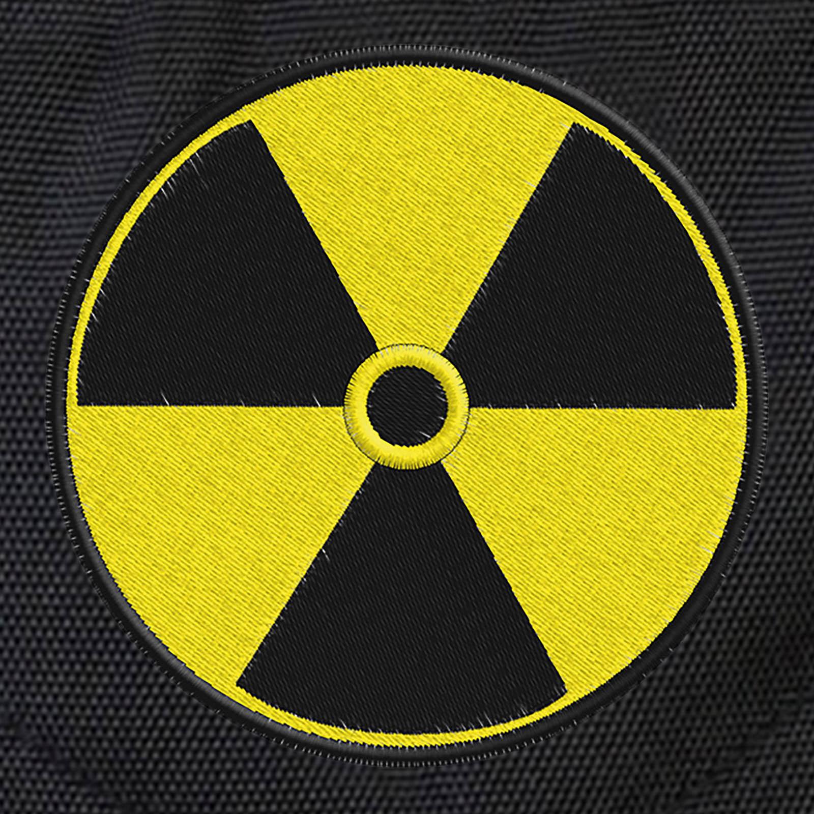 Трендовый городской рюкзак со знаком радиации купить оптом