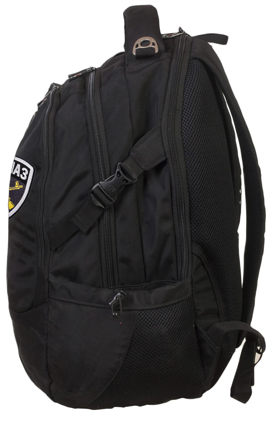 Трендовый удобный рюкзак с нашивкой Спецназ - заказать оптом