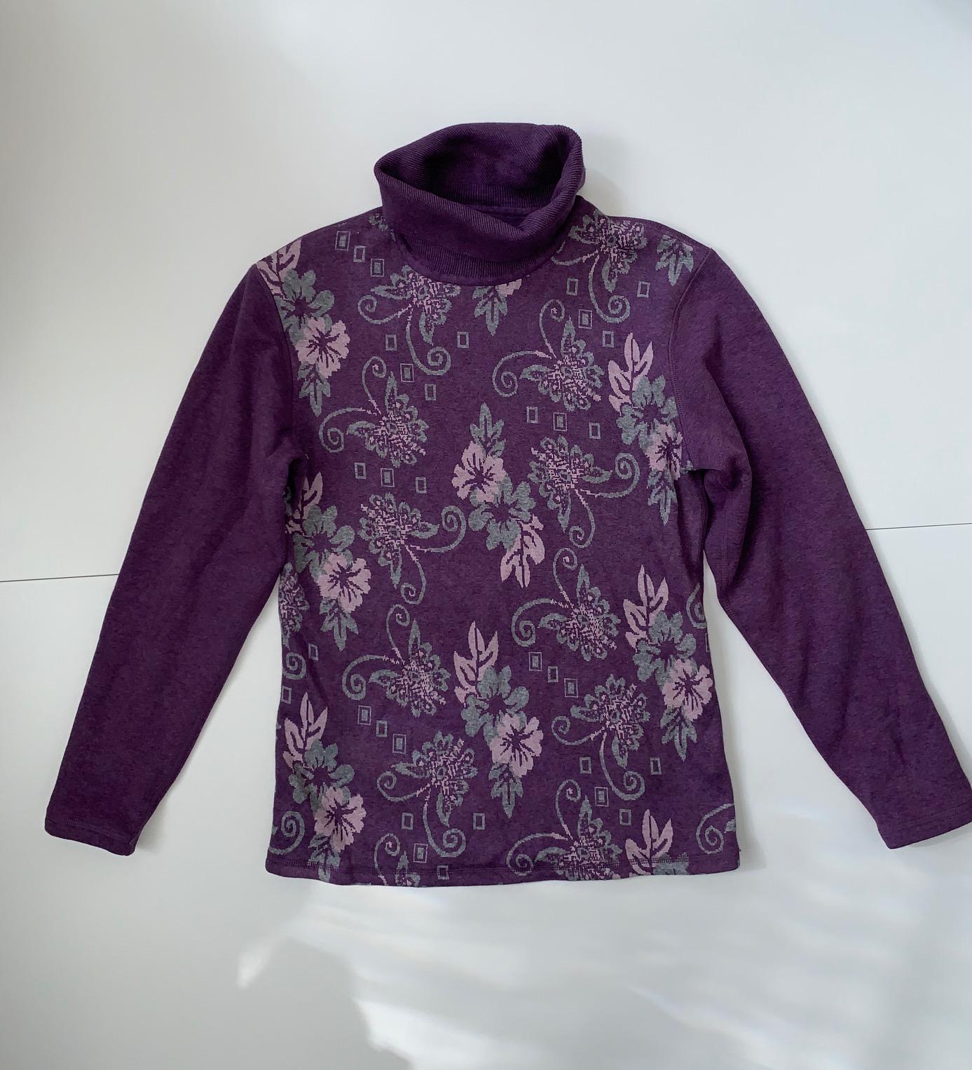 Трендовый женский свитер с подкладкой