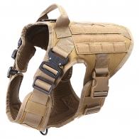 Тренировочный разгрузочный жилет для собак Icefang Army Style Cobra (хаки-песок)