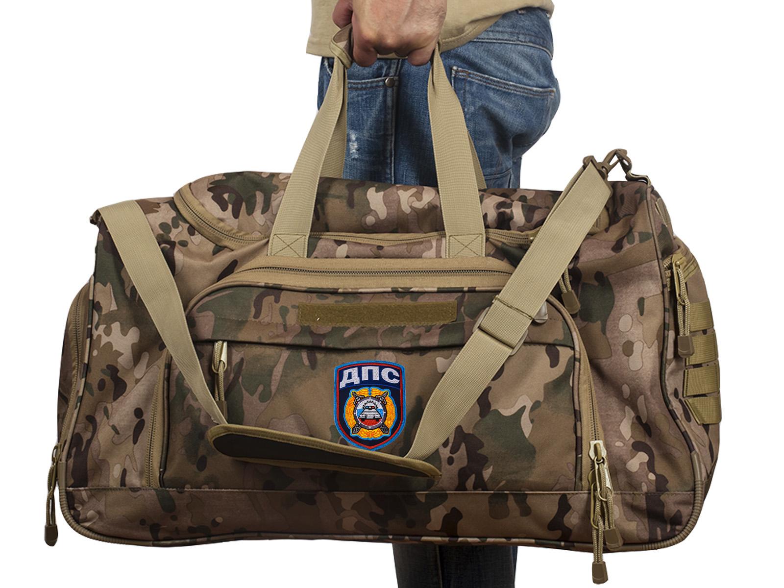 Купить тревожную надежную сумку 08032B Multicam с нашивкой ДПС с доставкой онлайн