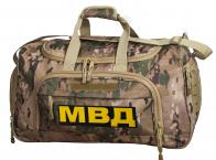 Тревожная сумка 08032B Multicam с нашивкой МВД