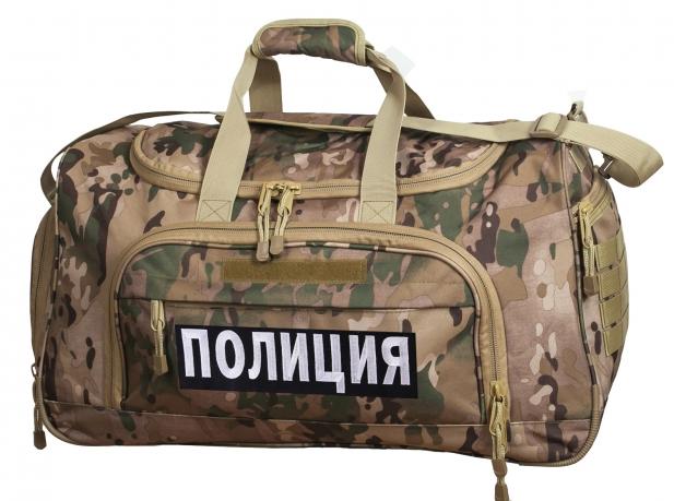 Тревожная сумка 08032B с нашивкой Полиция