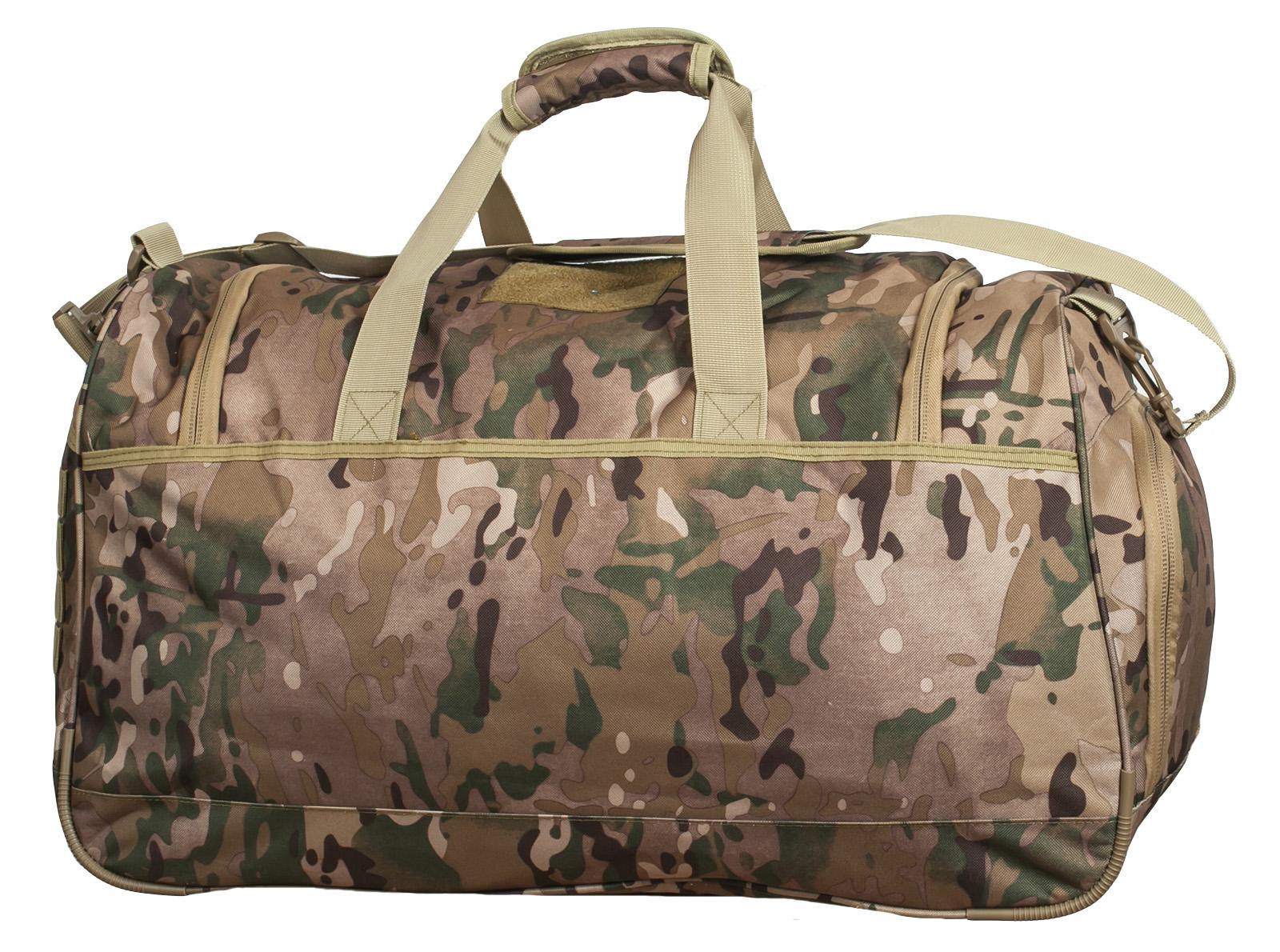 Тревожная сумка 08032B с нашивкой Танковые Войска