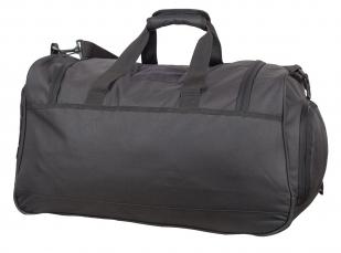 Тревожная темно-серая сумка 08032B с нашивкой Погранвойска - заказать в подарок