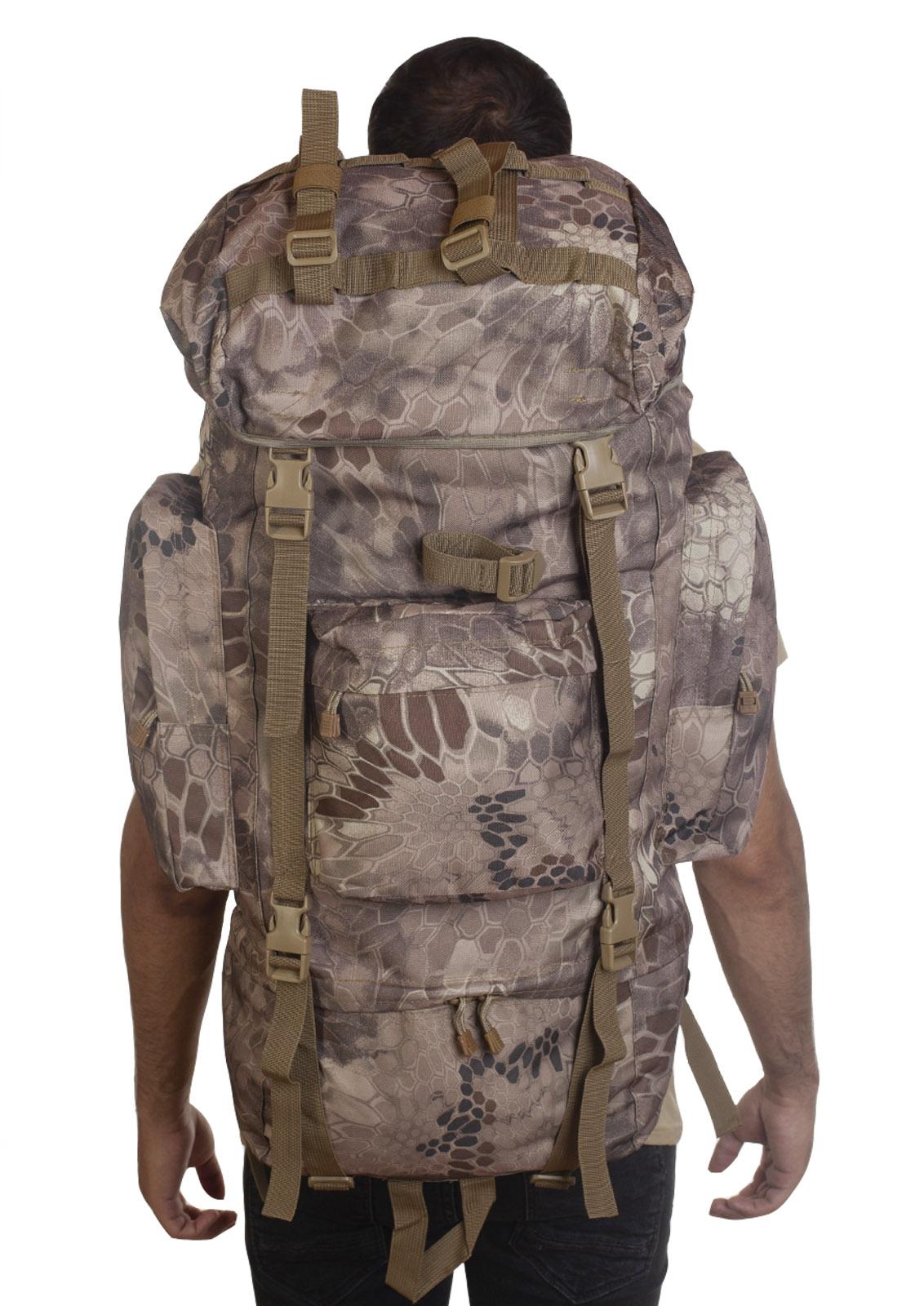 Тревожный рюкзак выживальщика (70 литров, Kryptek)