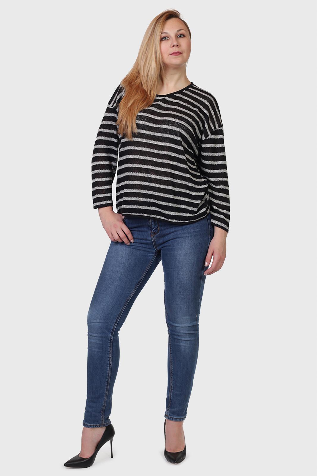 Купить полосатый женский свитер в интернет магазине