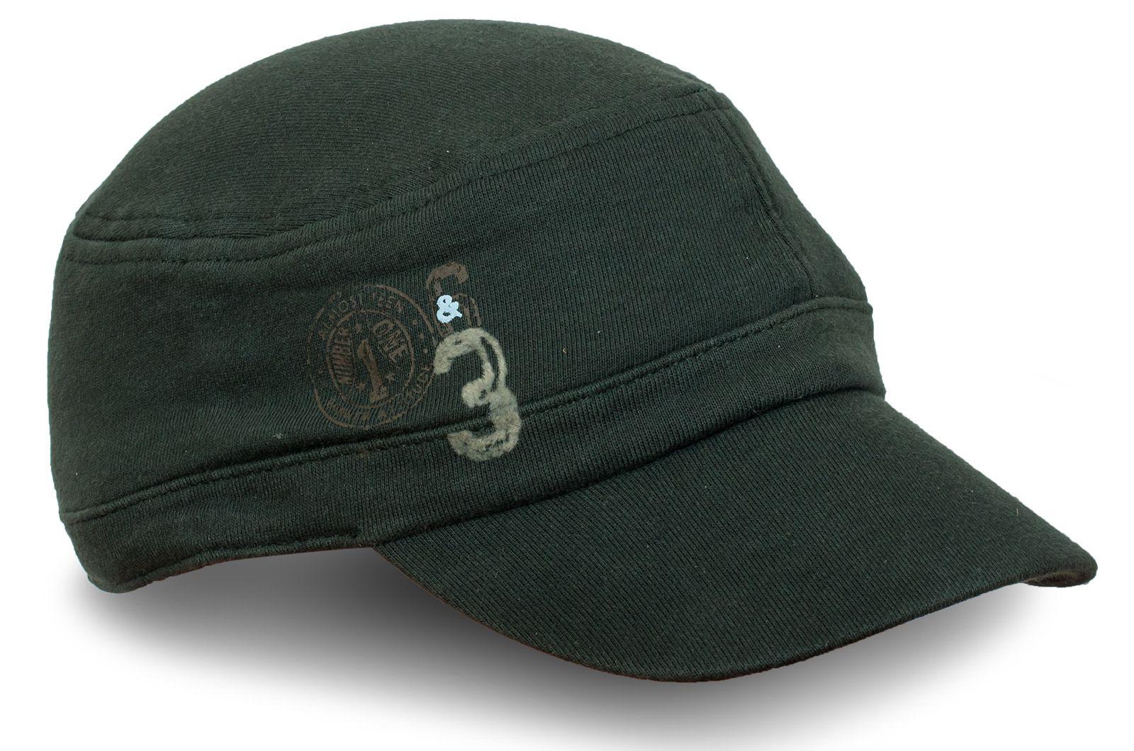 Трикотажная кепка тёмно-зелёная - купить по лучшей цене