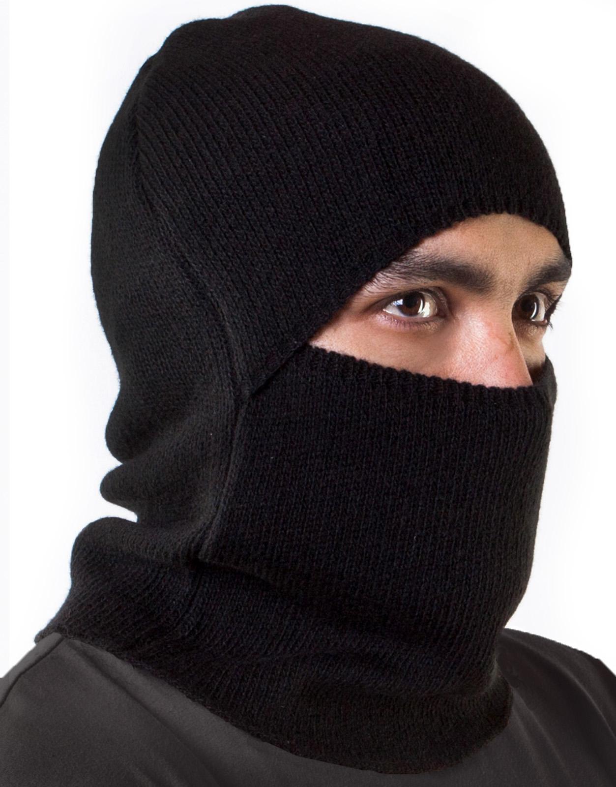 Трикотажная маска подшлемник