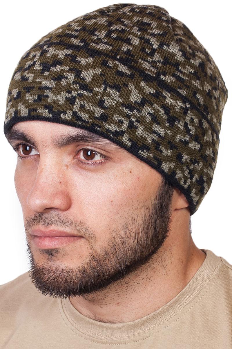 Трикотажная шапочка для мужчин