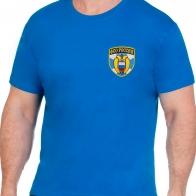 Трикотажная синяя футболка ФСО России
