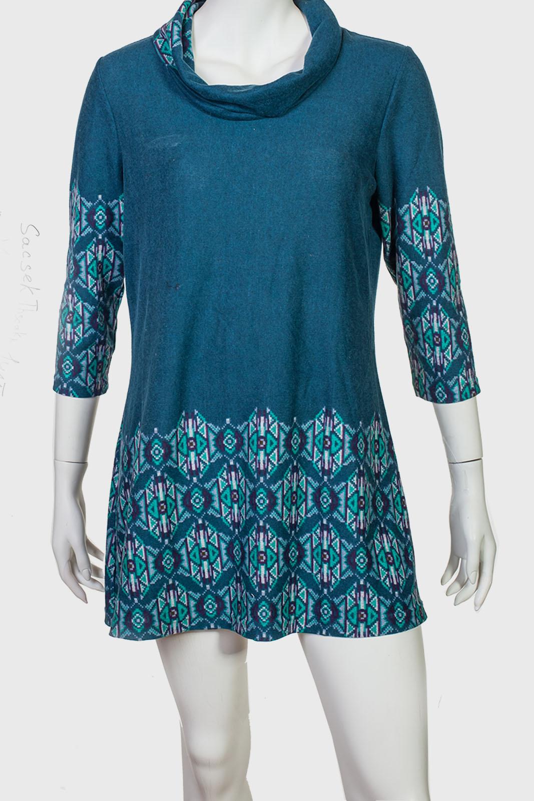 Трикотажное платье-туника Sacsek Thscakr.