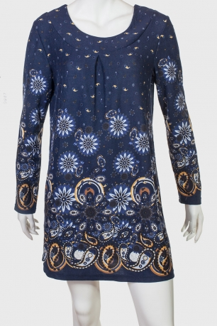 Трикотажное платье-туника Lobo