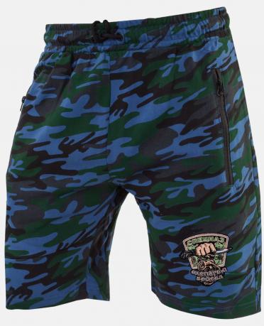 Трикотажные мужские шорты с эмблемой Охотничьих войск