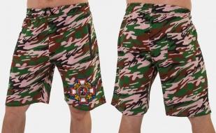 Трикотажные мужские шорты с нашивкой Потомственный казак купить с доставкой