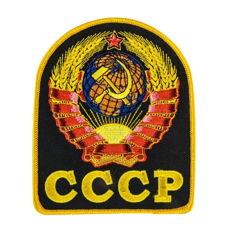 Цветная нашивка с гербом СССР