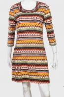 Новиночка! Цветное трикотажное платье.