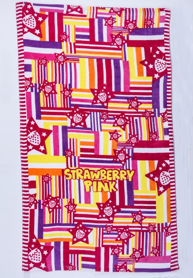 Цветное полотенце - купить онлайн в интернет-магазине
