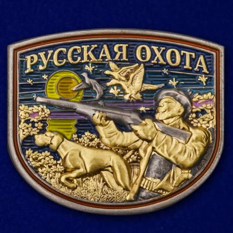 """Цветной жетон """"Русская охота"""""""