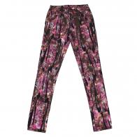 Цветные женские брюки Pieces с отливом.
