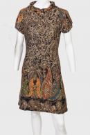 Цветочное платье трикотаж Palme.