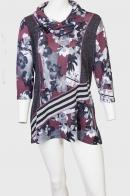 Короткое платье туника Marie Claire с очаровательным цветочным принтом.