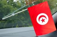 Тунисский флажок с присоской