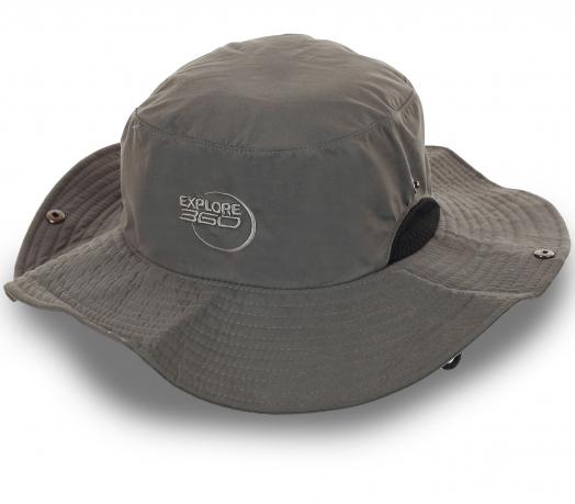 Туристическая шляпа Explore. Классический цвет, плотный хлопок