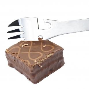 Туристическая вилка-ложка-нож 5-в-1