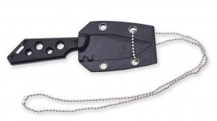 Нож Colt Neck Knife black в ножнах