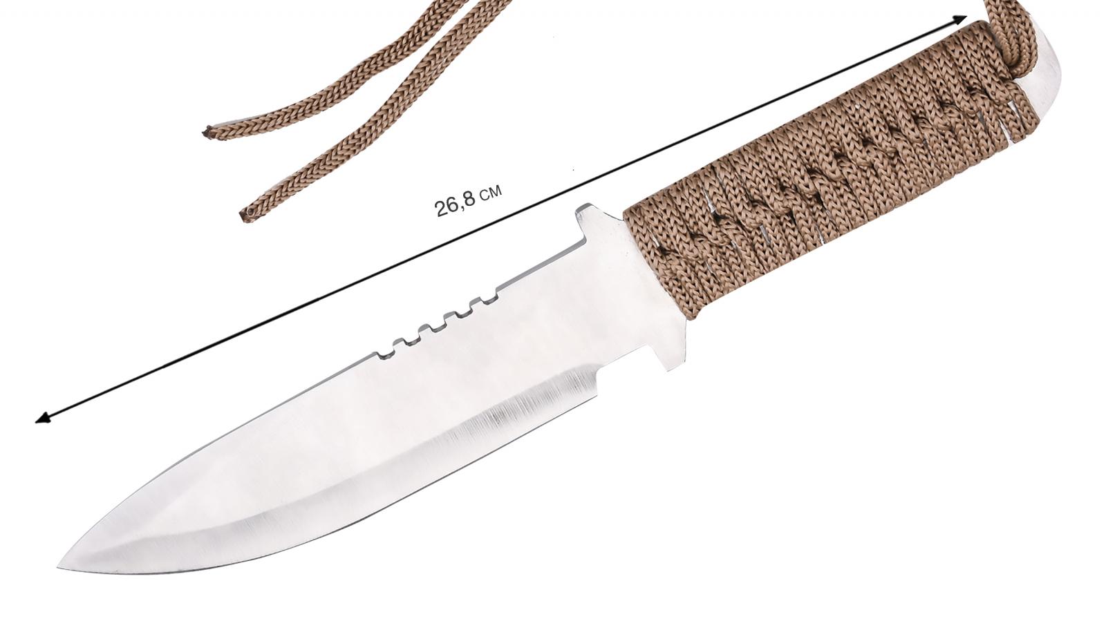 Туристический нож для выживания недорого