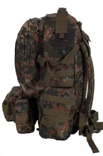 Туристический рюкзак-трансформер с нашивкой Ни пуха, Ни пера! - купить в розницу